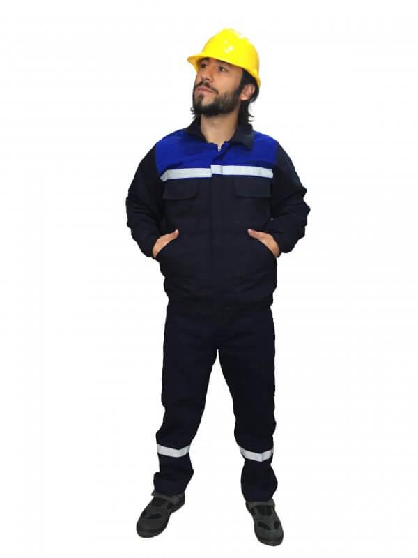 saks mavi robalı iş takımı