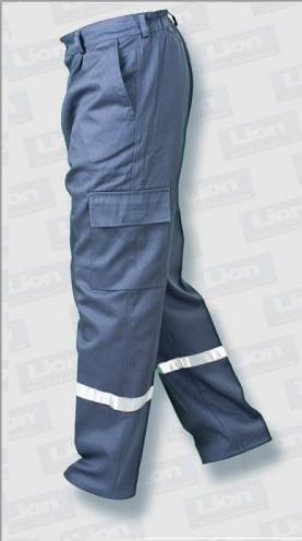 komando cepli iş pantolonu tek reflektörlü