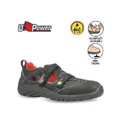 U Power İthal İş Ayakkabıları Andree Grıp S1P SRC EPA