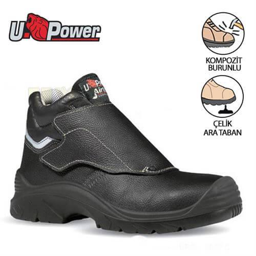 U Power İthal İş Ayakkabısı Bulls S3 Hro Hı Src