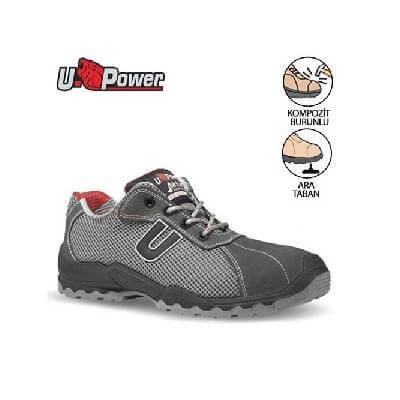 U Power İthal İş Ayakkabısı Coal S1P SRC