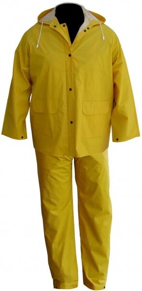 Yağmurluk takım Sarı